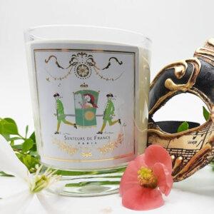 bougie parfumée senteur thé précieux univers Versailles parfum de Grasse