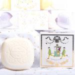 savonnette parfumée senteur thé précieux univers Versailles parfum de Grasse