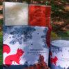 savons cubes parfum de Grasse lait d'ânesse et fruits rouges dans coffret Senteurs de France écureuil