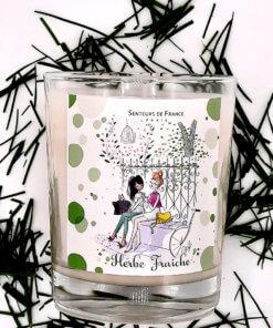 bougie parfumée jardins de Paris
