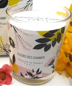 bougie parfumée fleurs des champs