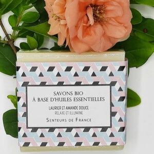 savon biologique Senteurs de France laurier