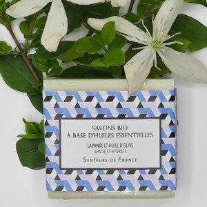 savon biologique Senteurs de France lavande