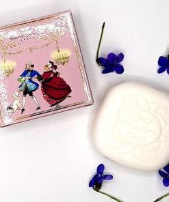 """savonnette parfumée violette """"bal masqué"""""""