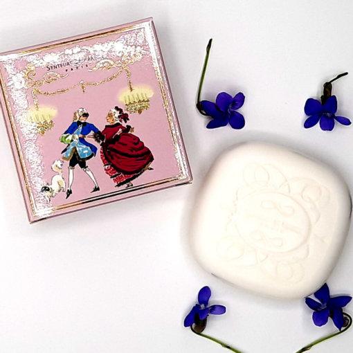 savonnette parfumée violette souvenir de France