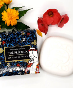 """savonnette parfumée au thé précieux """"damoiselle"""""""