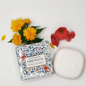 savonnette parfum de Grasse herbe fraiche thème moyen âge