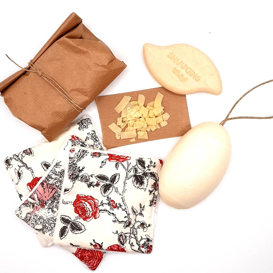 kit zéro déchet - la pochette Antoinette