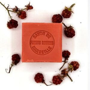 savonnette Marseille fruits rouges