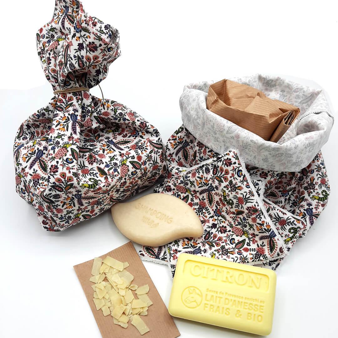 kit zéro déchet pochette suzette